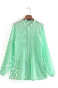 pleated blouse shirts