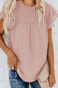 lily pink blouse
